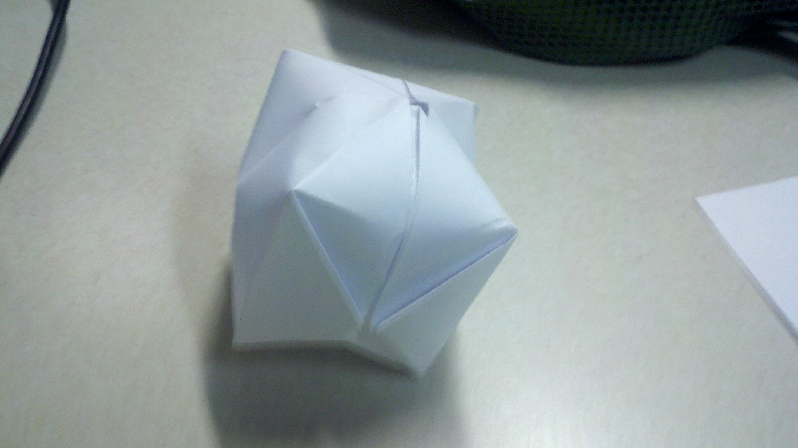 How to make an Origami Water Balloon | papercanyons - photo#4